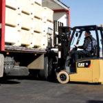 Cat EP15NT unloading