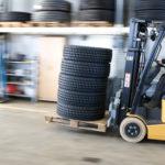 Cat EP15PNT tyre depot