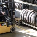 Cat EP15PNT - Tyre depot